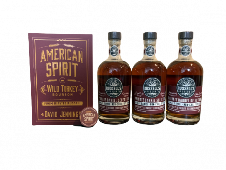 Russell's Reserve Single Barrel Bundle (Three pack w/ Book & Coin)