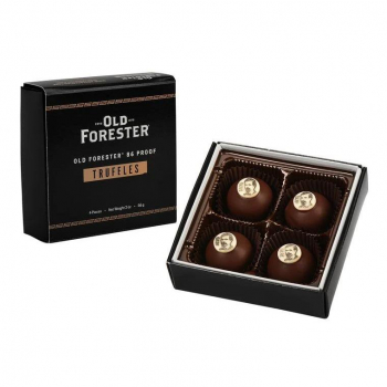 Old Forester 86 Proof Truffles 4pc