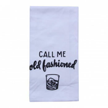 Call Me Old Fashioned Tea Towel