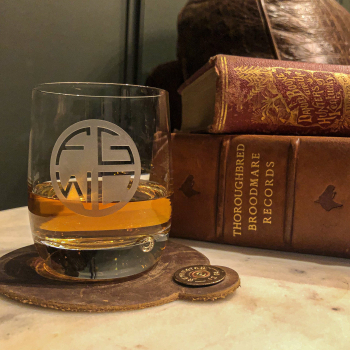 Four Gate Whiskey Company Crystal Old Fashioned Glass