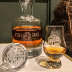 Four Gate Whiskey Company Crystal Decanter