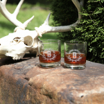 Bourbon Outfitter Rocks Glass (set of 2)